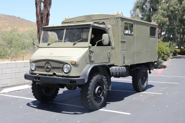 1969 Mercedes Unimog 404 With Full Communications Top