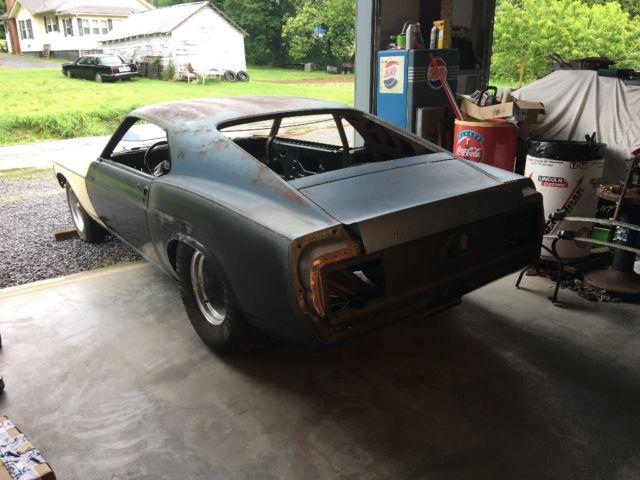 1969 Mustang Mach 1 pro street, barn find. Street rod ...