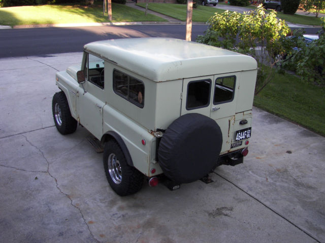 1969 Nissan Patrol model KL60