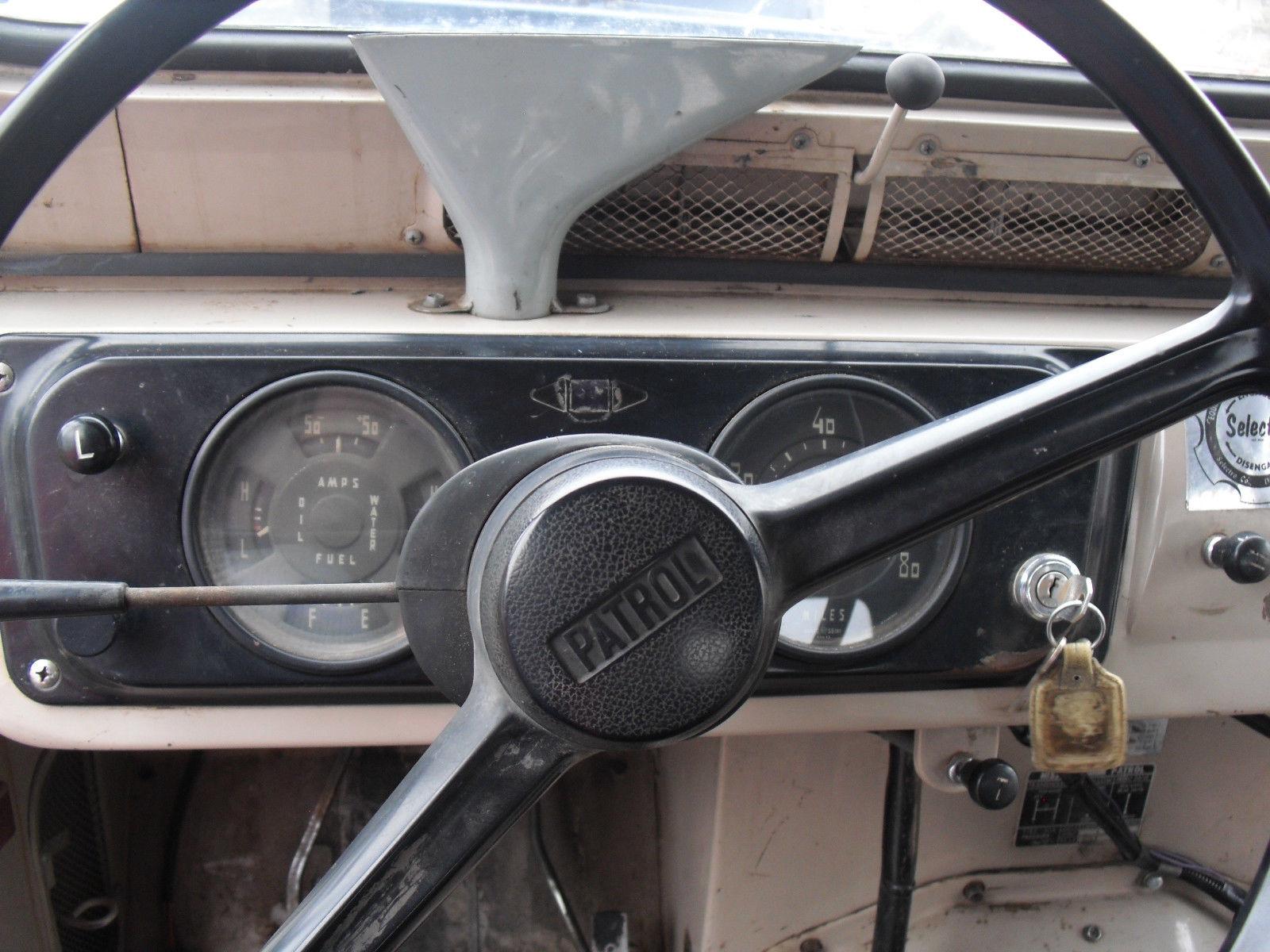 1969 Nissan Patrol Original Condition