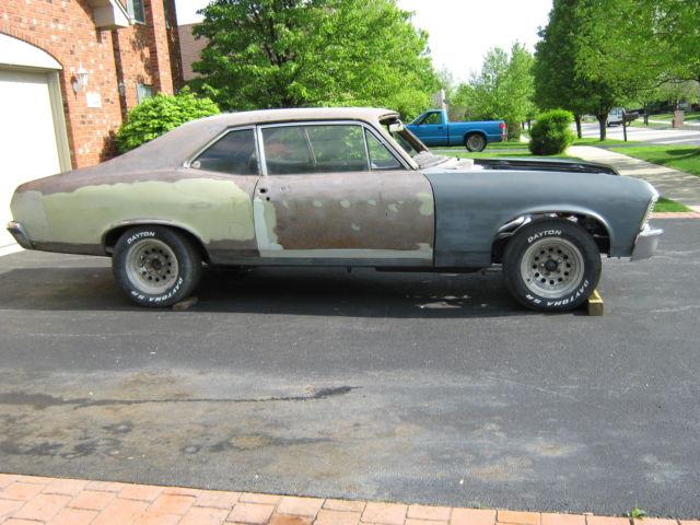 1969 nova project car no rust no reserve. Black Bedroom Furniture Sets. Home Design Ideas
