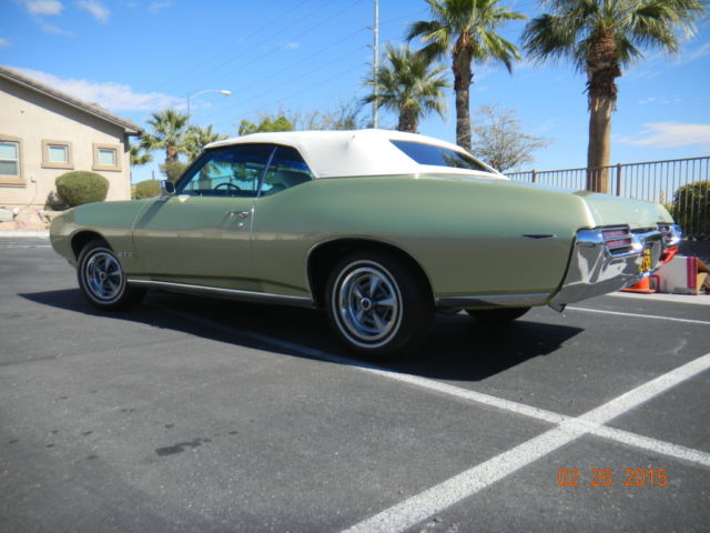 Used Cars St George Utah >> 1969 Pontiac GTO #1 Condition Survivor Convertible w/ A/C,Rare LimeLight Green!