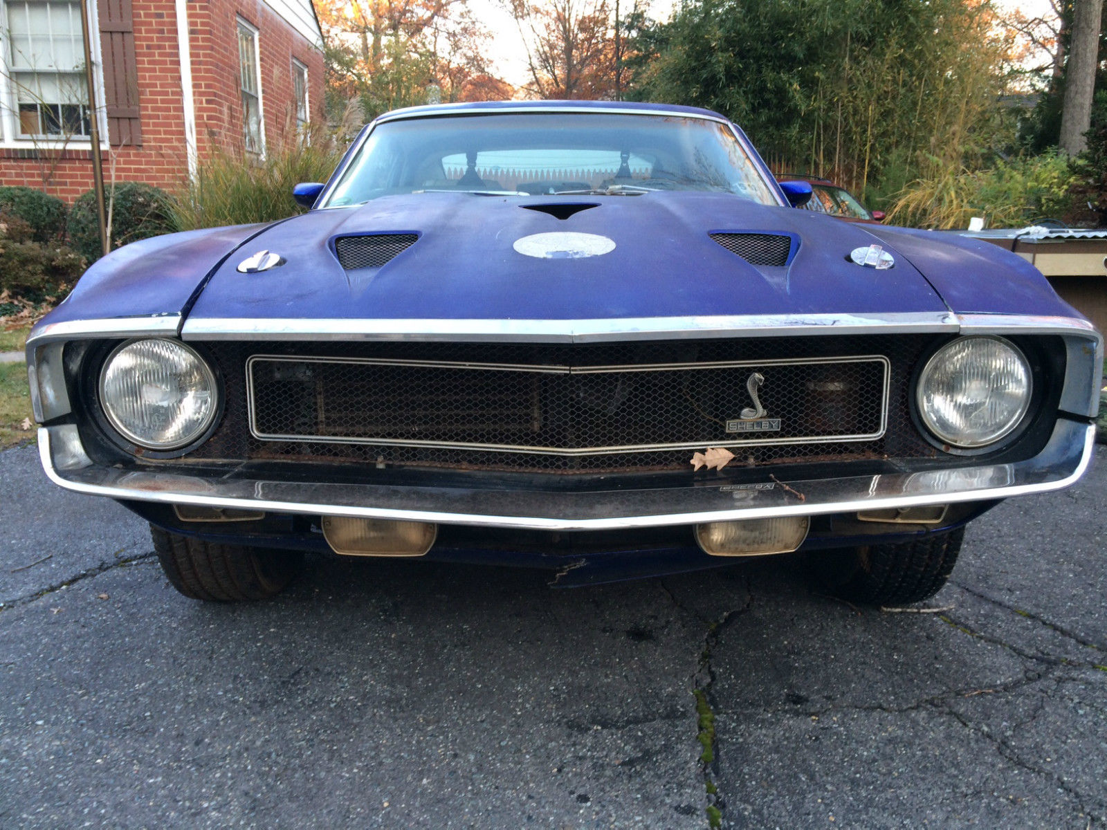 1969 Shelby Mustang Gt 350 Hertz 351 W Solid Body Southern Car Ford