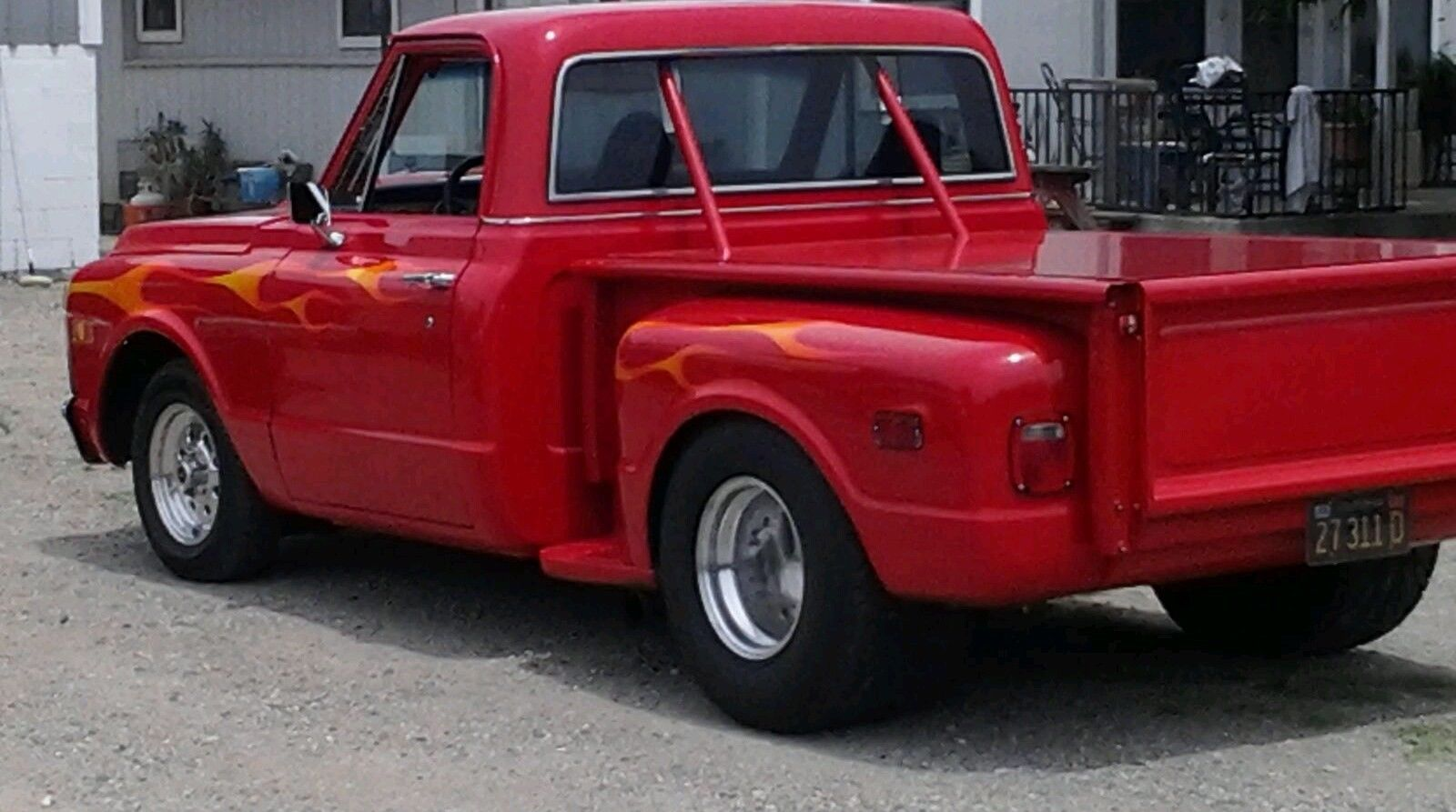 1969 Chevy Truck For Sale >> 1969 Step Side Chevrolet Pro Street Truck Big Block Stroked
