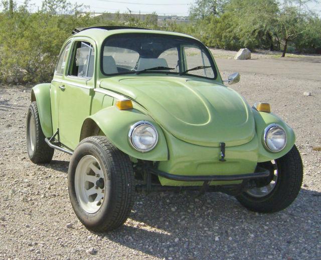 1969 Vw Baja Bug Volkswagen Beetle 69 Off Road Ragtop Rag