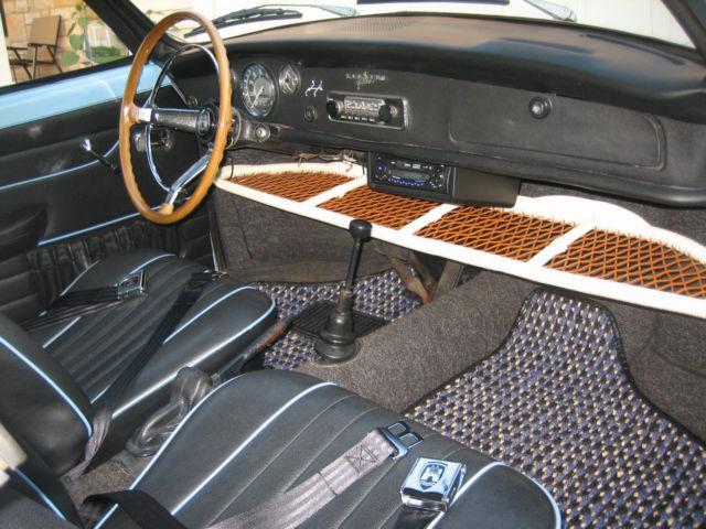 1969 Vw Karmann Ghia Convertible Rare Automatic Stickshift Stick Shift