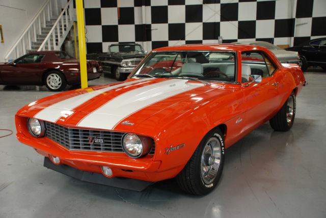 1969 Z28 X77 Camaro Classic Cars Muscle Cars Street Rod