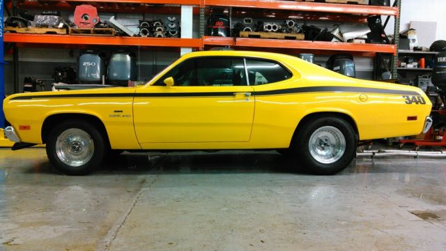 1970 340 Plymouth Duster Real Vs29h 340 Car Lemon Twist