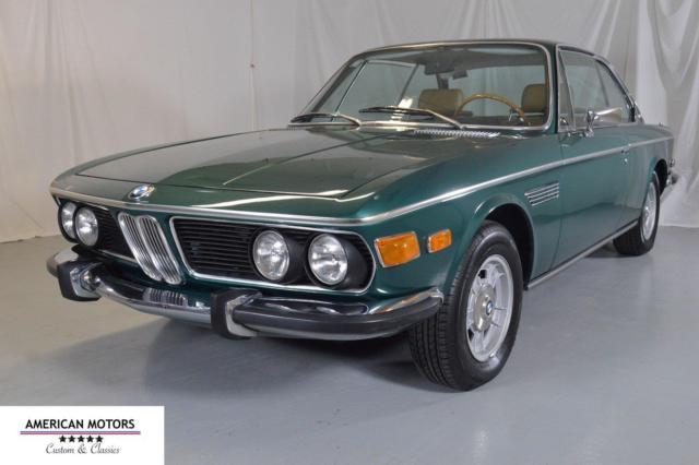 1970 bmw 2800 cs tundra green california car amazing car. Black Bedroom Furniture Sets. Home Design Ideas