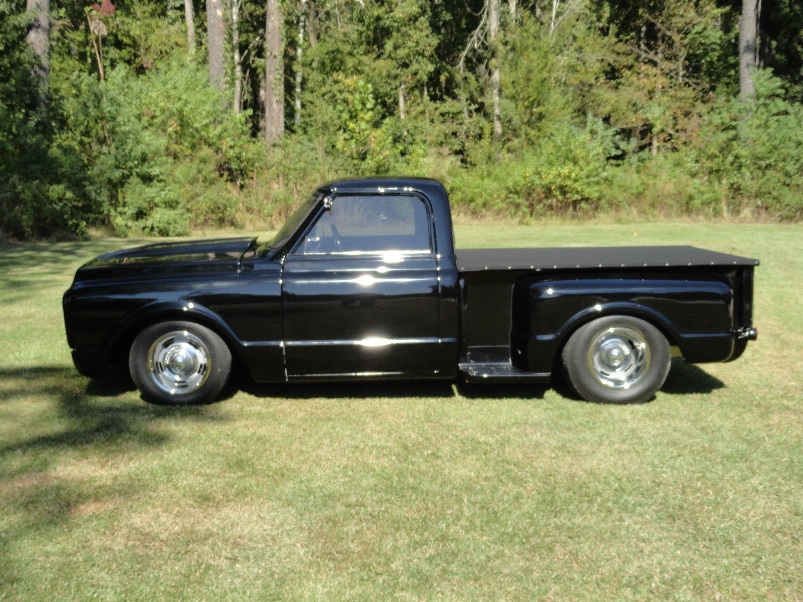 1970 c10 street rod fast loud stepside chevrolet truck hot rod. Black Bedroom Furniture Sets. Home Design Ideas