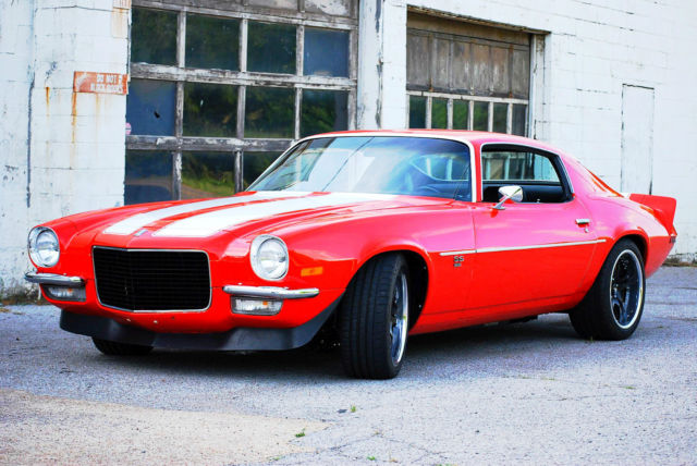 1970 Camaro Ss Pro Touring Restomod