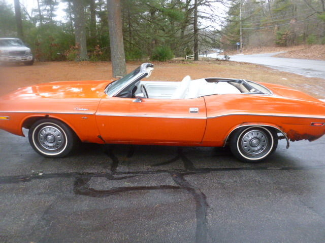 1970 Challenger Convertible Hemi Orange With White Interior Cheap