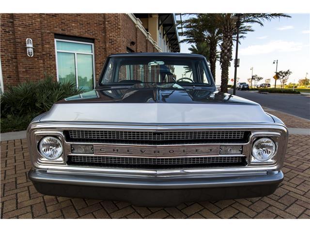 1970 Chevrolet C-10 Custom 700 Miles Silver/Gray Custom Ls ...