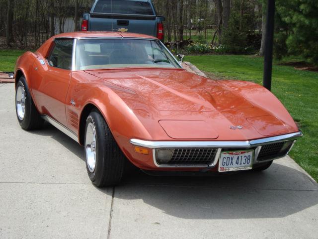 1970 Chevrolet Corvette Stingray L 46 350 350 Hp 4 Speed