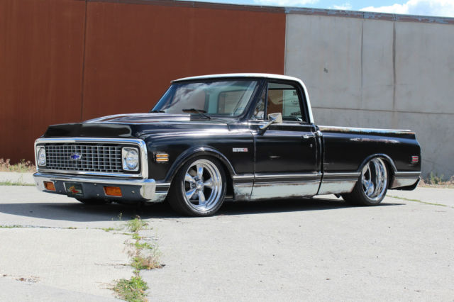 1970 chevy c10 bagged patina shop truck for sale in spokane washington united states. Black Bedroom Furniture Sets. Home Design Ideas