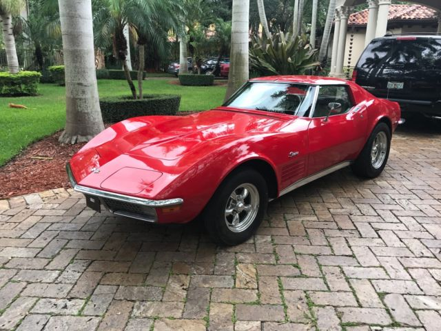 1970 chevy corvette 4 speed no reserve tons of upgrades. Black Bedroom Furniture Sets. Home Design Ideas