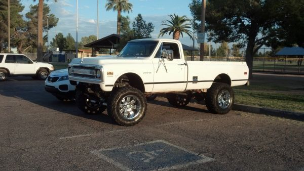 1970 Chevy Cst K10 4x4 With 3 4 Ton Axels Rust Free Truck