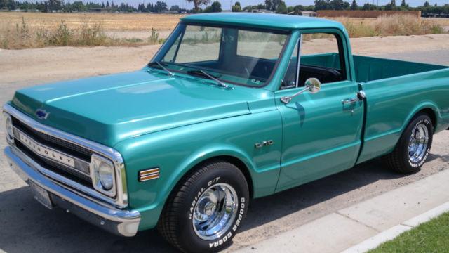 Used Cars Visalia >> 1970 Chevy Pickup c10 Fleetside Shortbed Low Reserve