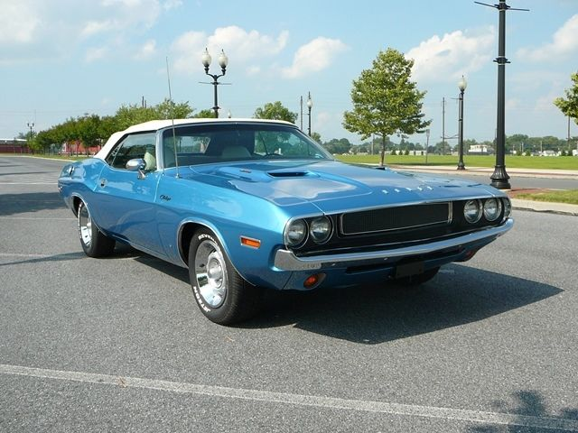 1970 Dodge Challenger Convertible Numbers Matching Rotisserie