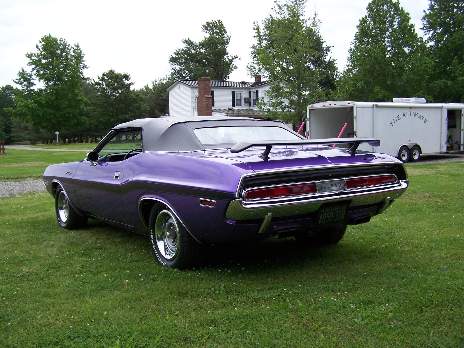 1970 dodge challenger r t convertible plum crazy. Black Bedroom Furniture Sets. Home Design Ideas