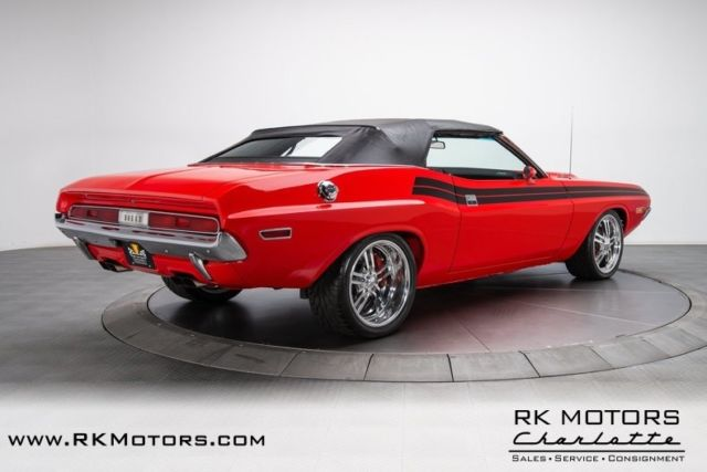 1970 Dodge Challenger R/T Viper Red Convertible 6.1 Liter ...