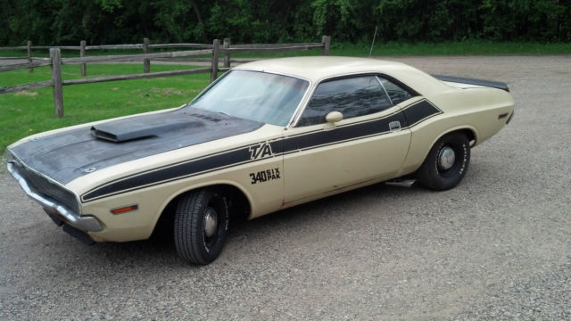 1970 Dodge Challenger Ta Matching S Runs And Drives Great Ta Original