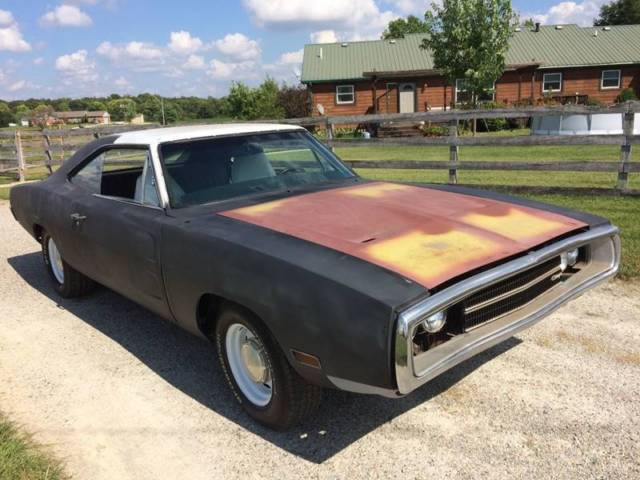 1970 DODGE CHARGER 56,000 Miles Black Other 440 Automatic ...