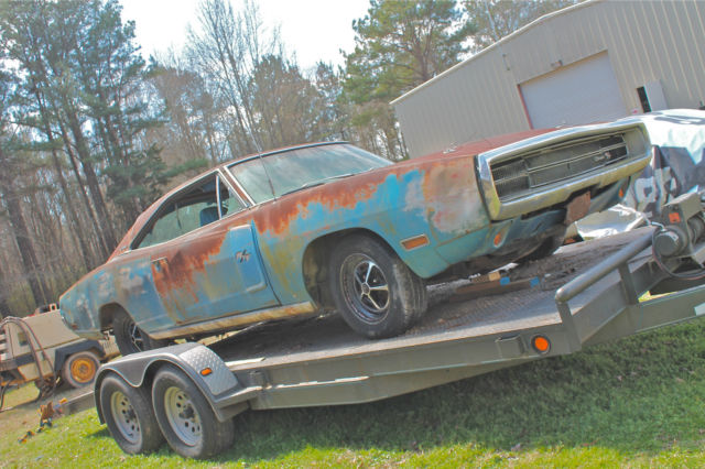 1970 Dodge Charger RT 440 4bbl Auto B5 Blue 70 Complete
