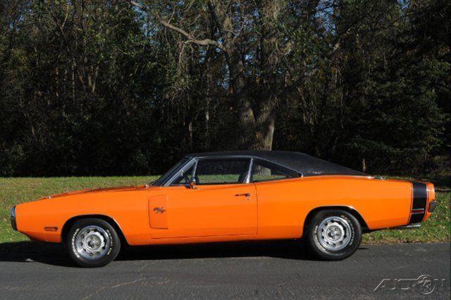 1970 Dodge Charger R/T 440 # Matching RARE GO MANGO ORANGE