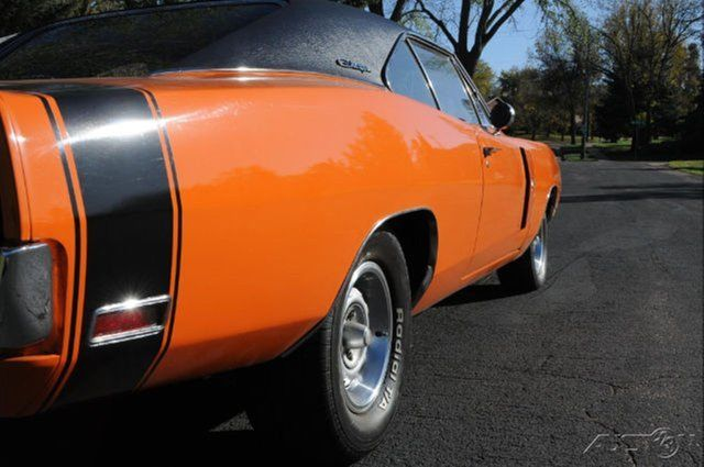 1970 Dodge Charger R T 440 Matching Rare Go Mango Orange