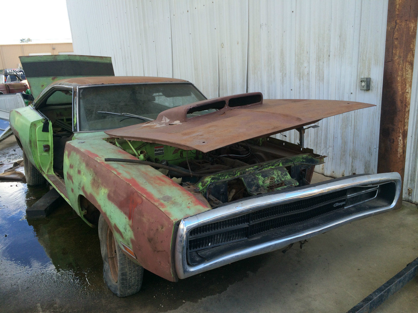 1970 Dodge Charger R/T Lime Green Project 440 1968 1969