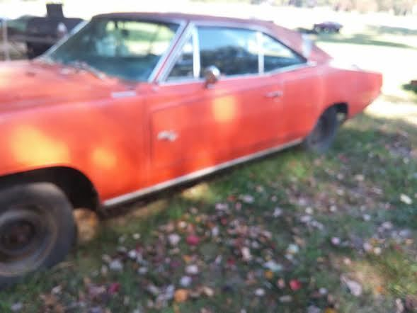 1970 DODGE CHARGER RT NUMBERS MATCHING 440 AC HEMI ORANGE