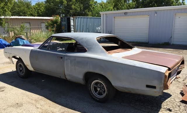 1970 Dodge Coronet R/T 440 Ram Charger Project Car