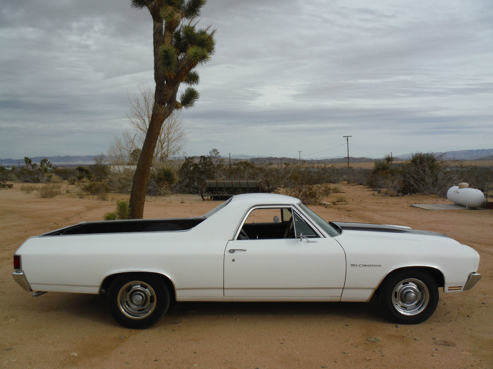1970 El Camino 454 700r4 California Car Fun To Drive Rally Wheels 1954 Chevy Chopped And Bagged Rat Rod