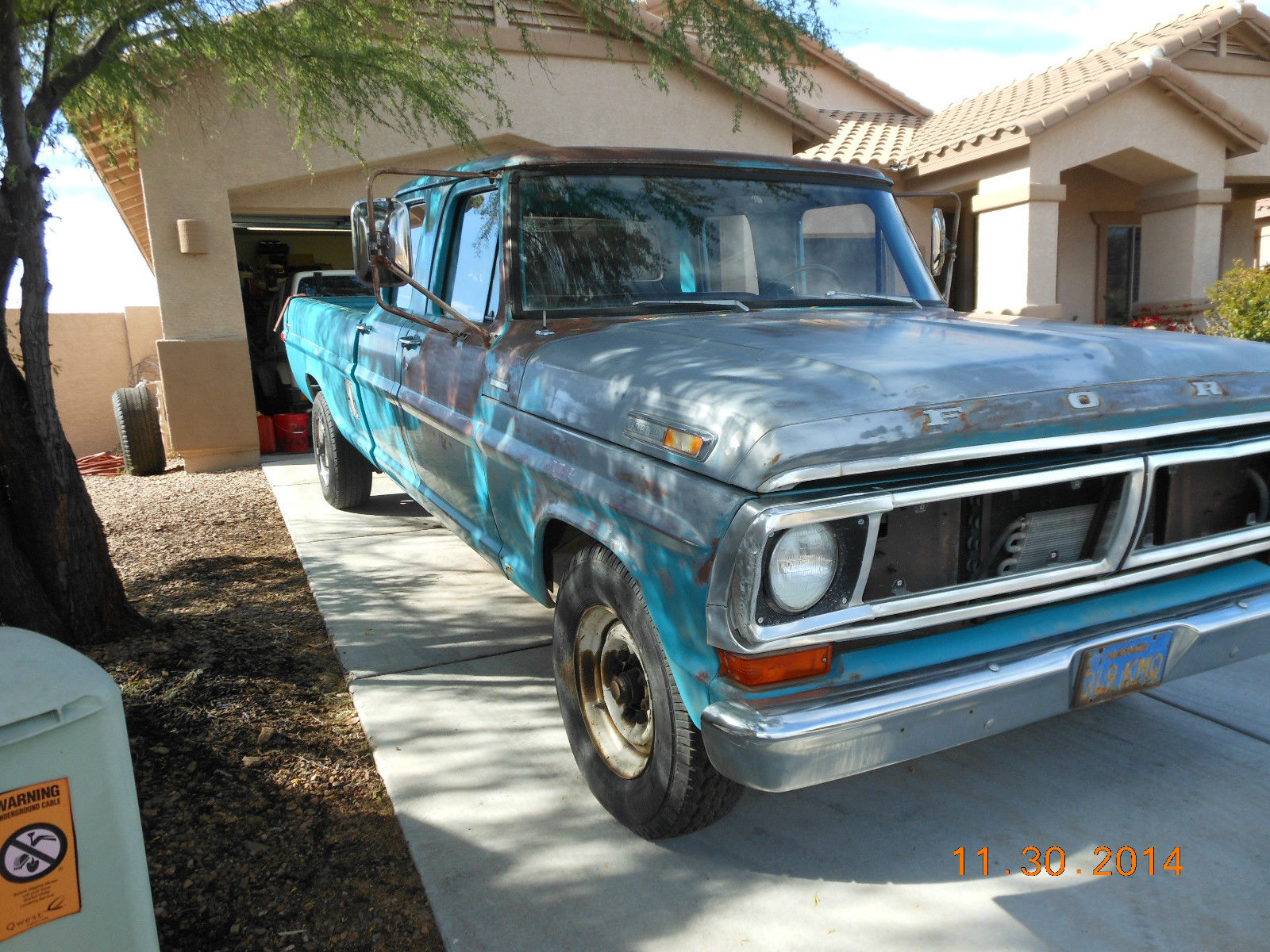 1970 F350 Crew Cab 1 Owner Low Miles All Original In Storage Since