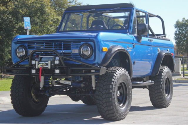 1970 Ford Bronco 351 V8 Air Conditioning Lifted And Built