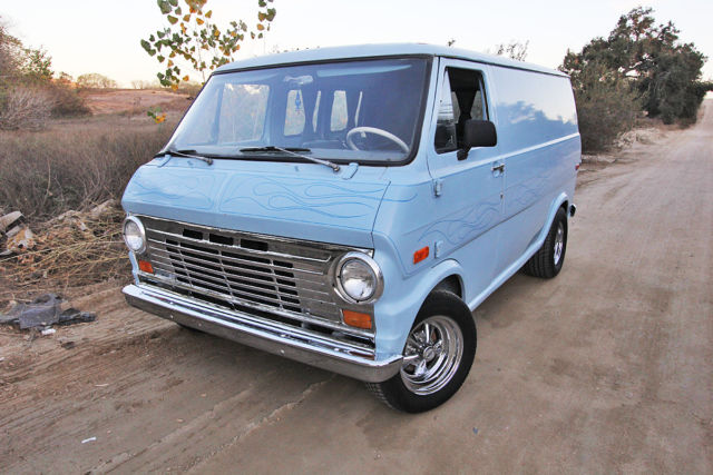 1970 ford econoline custom boogie van. Black Bedroom Furniture Sets. Home Design Ideas