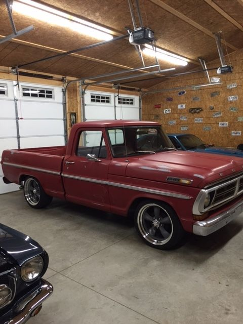1970 ford f100 manual transmission