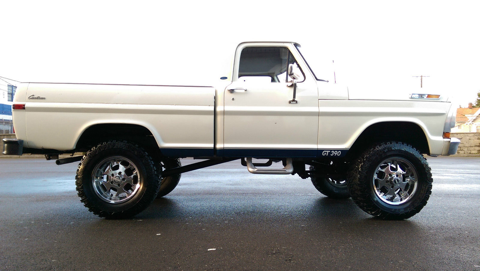 1970 ford f100 custom sport 4x4 short bed highboy extremely rare no reserve for sale in. Black Bedroom Furniture Sets. Home Design Ideas