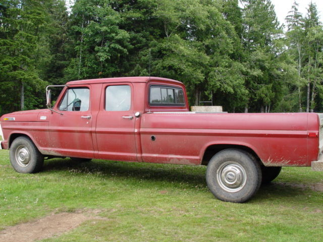 1970 ford f350 crew cab pickup1970 Ford Crew Cab For Sale #6