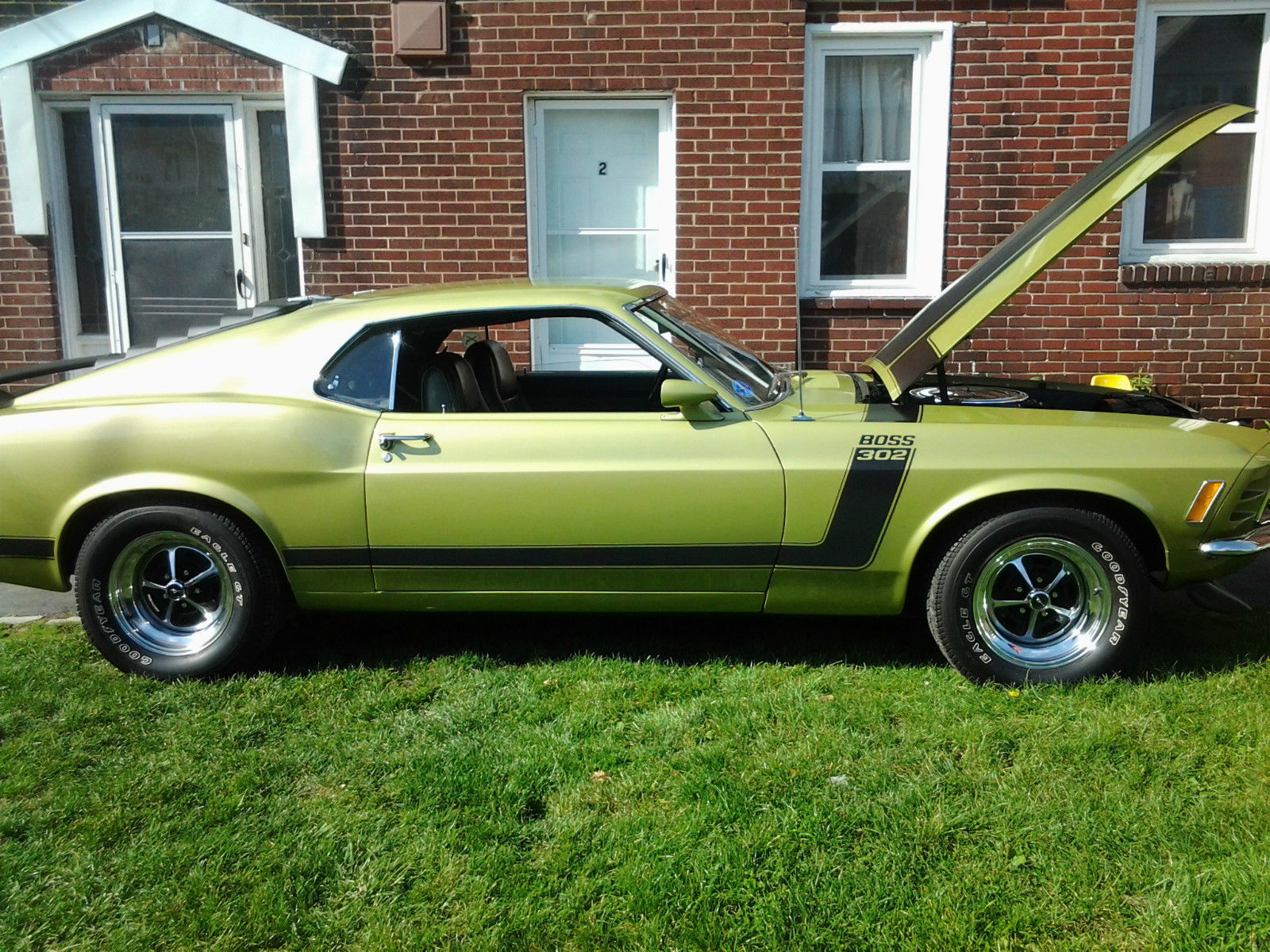 1970 Ford Mustang Boss 302 50l Numbers Match For Sale