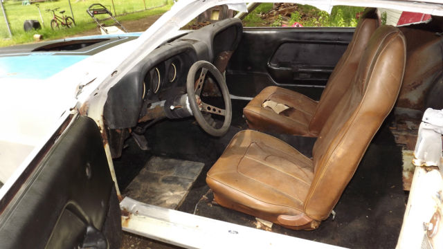 1970 Ford Mustang Sportsroof Fastback Project Car Includes