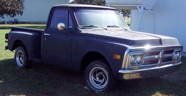 1970 gmc ton stepside short bed pickup truck. Black Bedroom Furniture Sets. Home Design Ideas