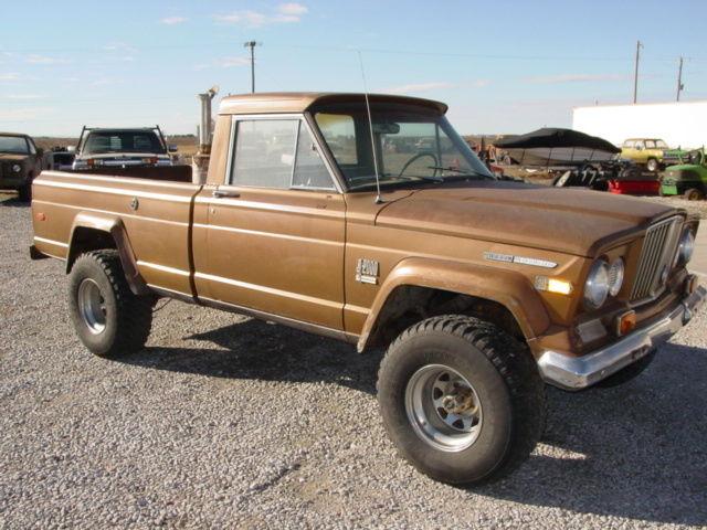 1970 jeep j2000 gladiator 4x4 3 53 detroit diesel calf truck for sale in york nebraska. Black Bedroom Furniture Sets. Home Design Ideas