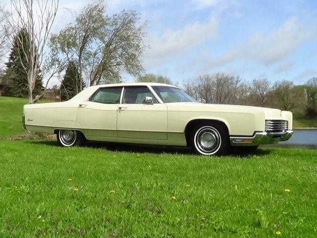 1970 Lincoln Continental 4 Door Sedan Damaged Fix Or Parts Car 460