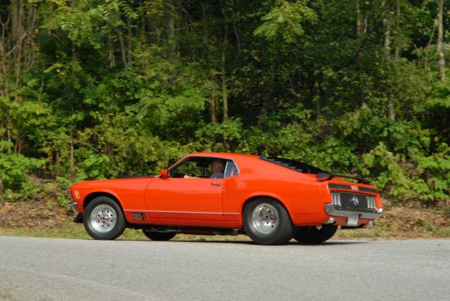 1970 Mach I Mustang Pro Street Custom Fastback