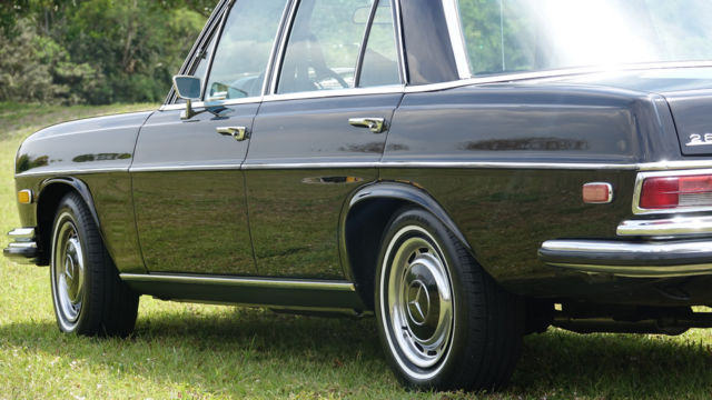 1970 mercedes 280se spectacular looking driving ac 47 020 for Mercedes benz of pompano used cars