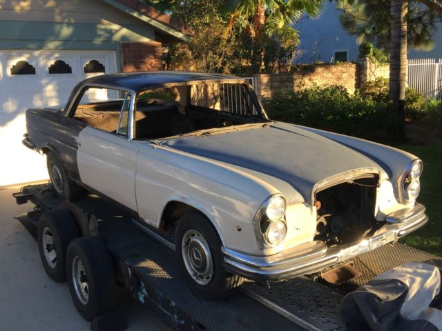 1970 mercedes 280se low grill coupe us delivery for Old mercedes benz parts