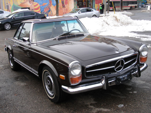 1970 mercedes 280sl for Mercedes benz for sale ontario