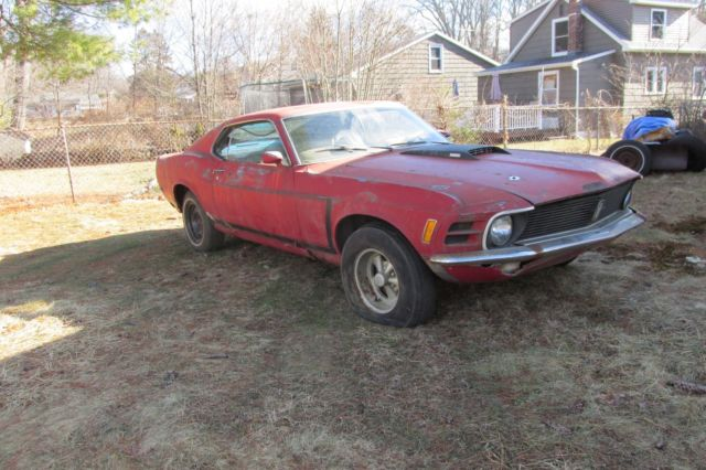 1970 Mustang Fastback Project For Sale